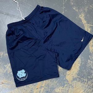 Nike North Carolina Mesh Basketball Shorts Navy M